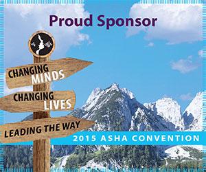 2015 ASHA proud sponsor